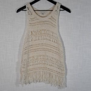 American Eagle Outfitters Crochet Vest